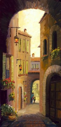Back Streets of Assisi