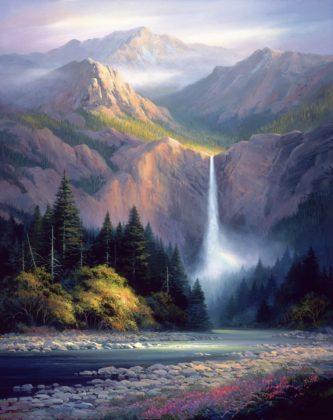Rockies Hidden Falls