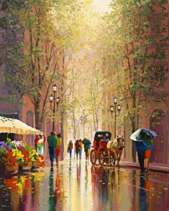 Shimmering Streets